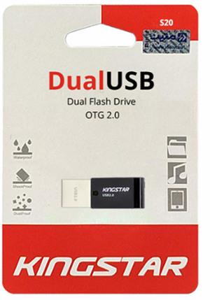 DUAL FLASH DRIVE KINGSTAR S20